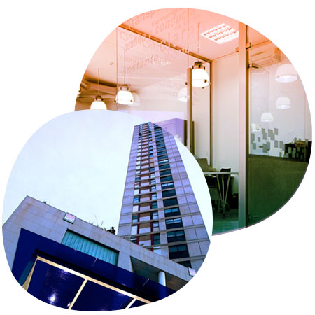 Oficinas Cubierta Solar