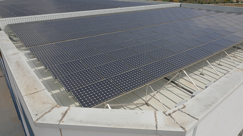 Instalación fotovoltaica picassent