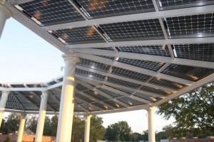Pérgola fotovoltaica