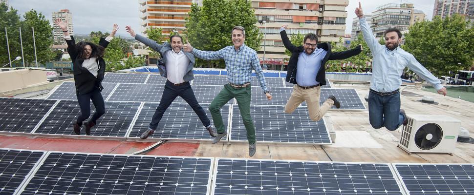Equipo Cubierta Solar, energía renovable