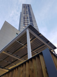 Pérgola Fotovoltaica de Cubierta Solar