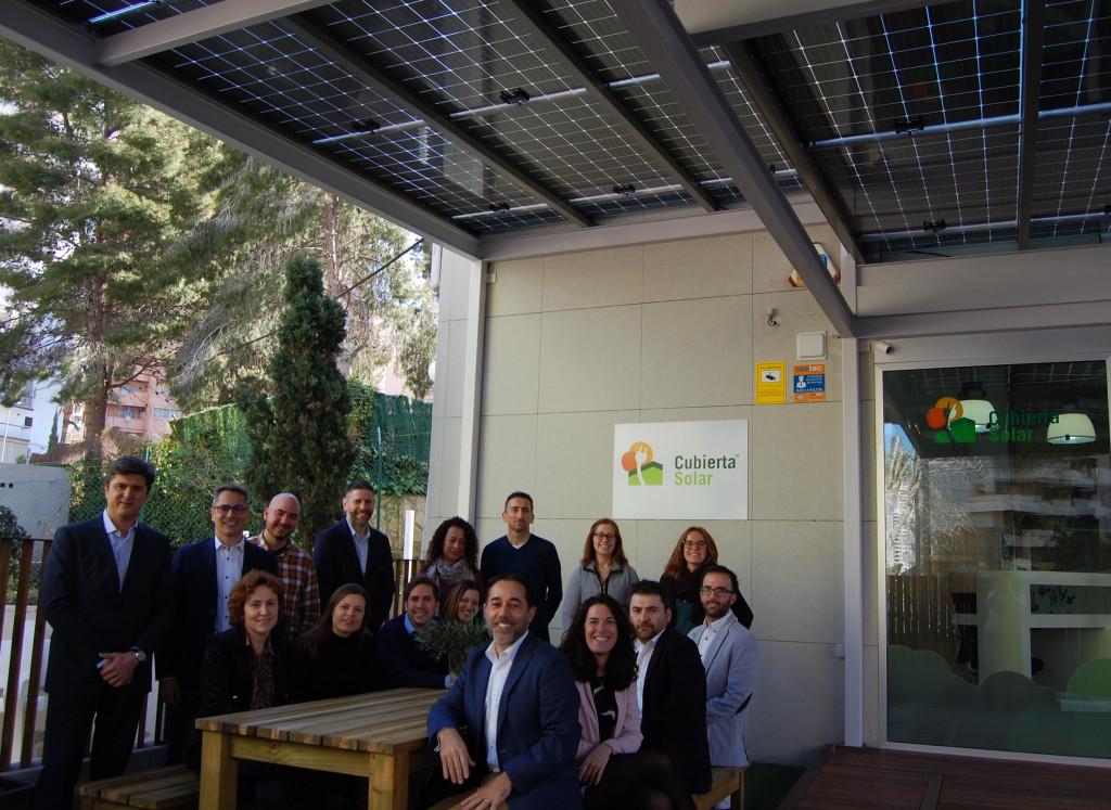 IVACE visita la Oficina Sostenible de Cubierta Solar