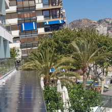Pérgola Hotel Cimbel Panorámica