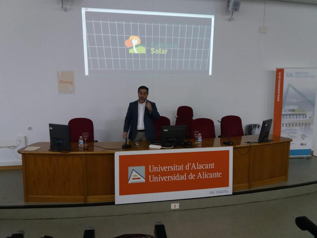 2 Jornada Autoconsumo Energético Universidad Alicante