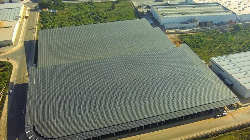 cubierta solar onda