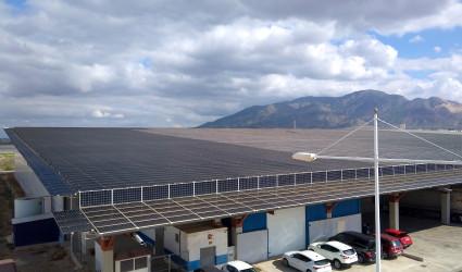 Cubierta Solar Alhama de MurciaS Instalación Alhama de Murcia