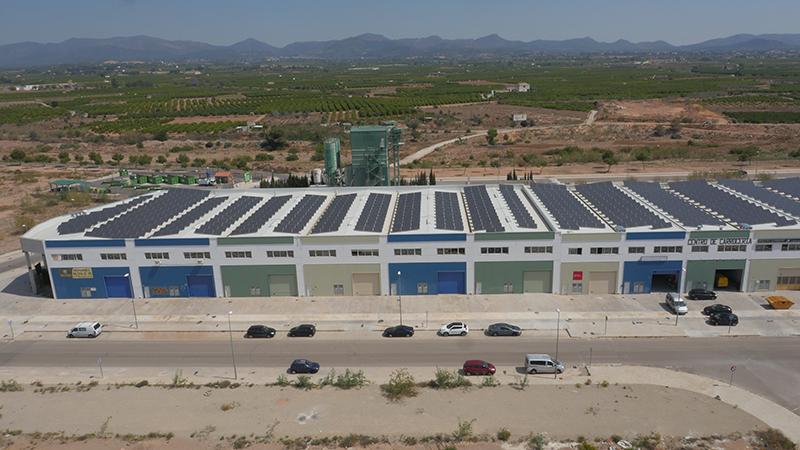 Instalación fotovoltaica Bétera