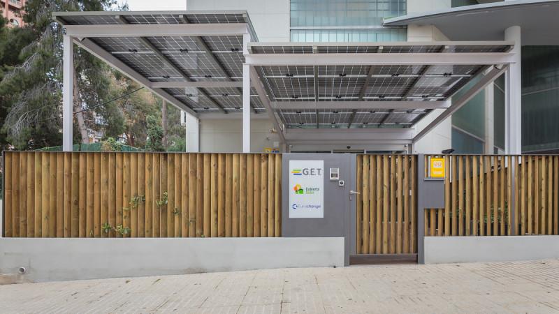 Pérgola fotovoltaica Cubierta Solar