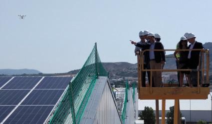 Visita Obra Conseller Cubierta Solar TexAthenea