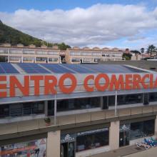 Instalación fotovoltaica Centro Comercial Aitana Calpe