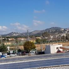 Instalación fotovoltaica Centro Brico Aitana Calpe