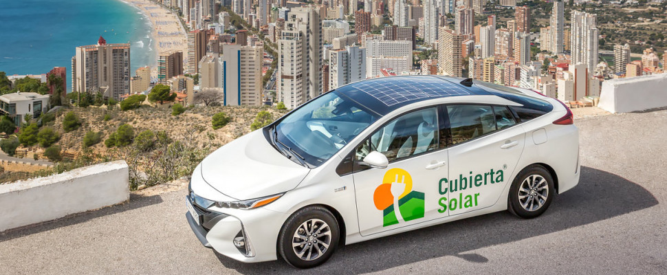 Toyota Prius fotovoltaico