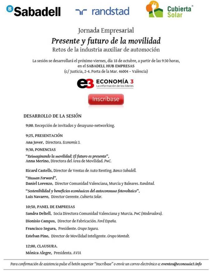 Programa Presente y futuro de la movilidad