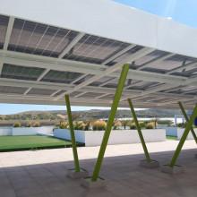 Pérgola fotovoltaica Verne