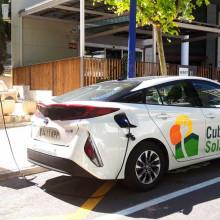 Punto de recarga de vehículos eléctricos