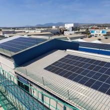 Instalación fotovoltaica en Iberchem