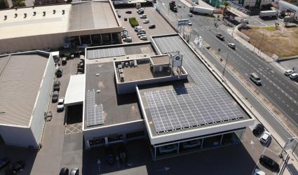 Instalación fotovoltaica Móvil begar