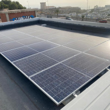 Instalación fotovoltaica El Campello