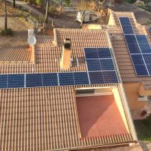 Instalación fotovoltaica en Alcoy