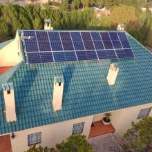 Instalación fotovoltaica en Cocentaina