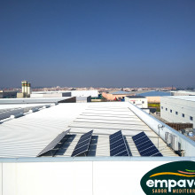 Instalación fotovoltaica Empaval