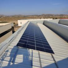 Instalación fotovoltaica Tescoma