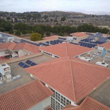 Instalación Fotovoltaica Centro San Rafael