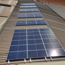 Ecocero. Instalación fotovoltaica
